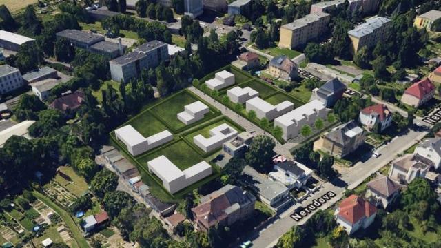 opava projekt nerudova pozemek rodinny dum opava linda bittova projekt architektonicka studie